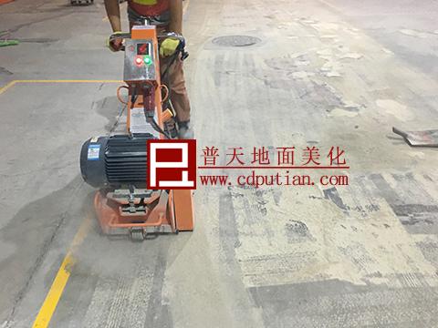 修补剂修复破烂水泥地坪工艺2