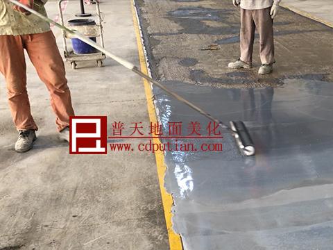 修补剂修复破烂水泥地坪工艺7