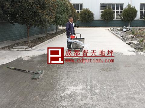 厂区道路起砂破烂修复方法7