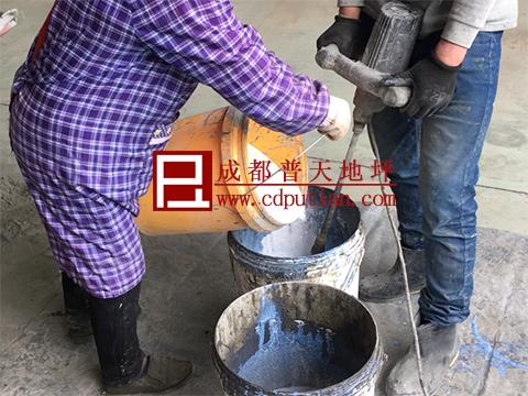 厂区道路起砂破烂修复方法9