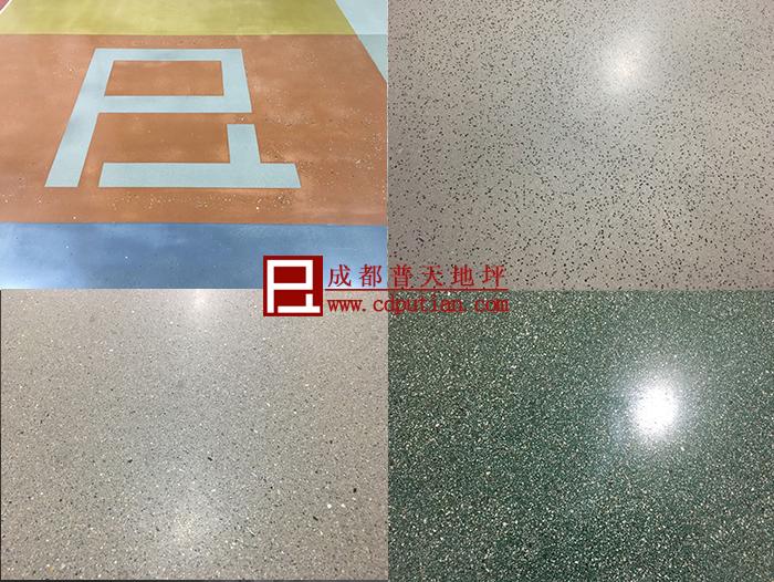 地坪修补剂用于工商业艺术地坪系统