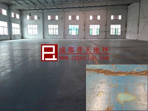 温江华银工业港环氧平涂地坪4