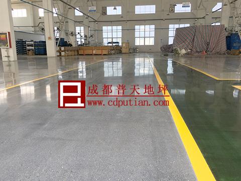混凝土密封固化剂染色地坪