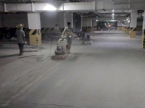 达州某小区地下室混凝土密封固化剂地坪施工方案2