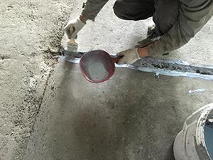 地坪道路坑洞裂缝修补处理3